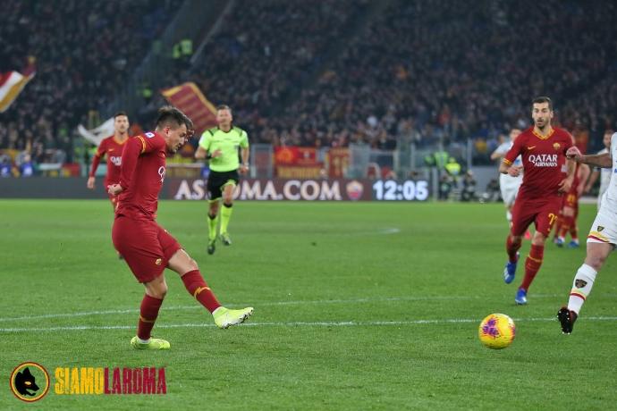 Roma avanti all'Olimpico: è 2-0 alla fine del primo tempo