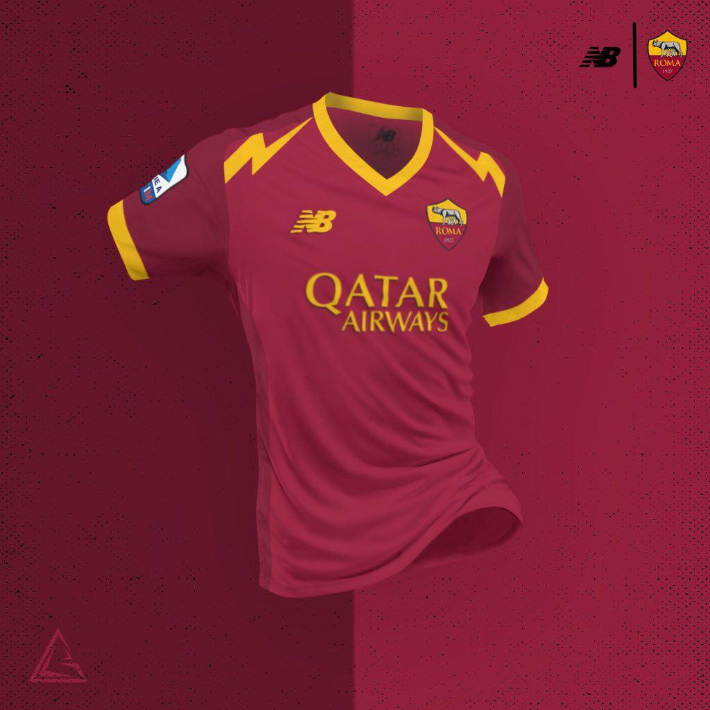 Come potrebbe cambiare la maglia della Roma con la New Balance ...
