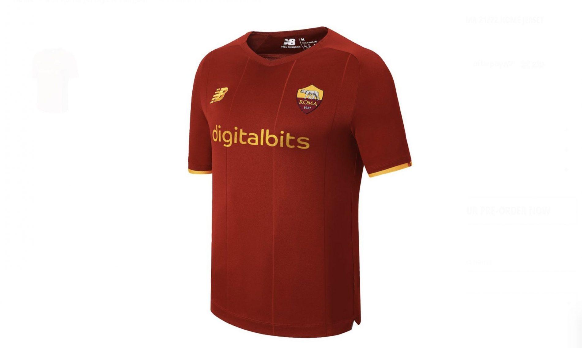 In Australia è in vendita la nuova maglia della Roma. E c'è lo ...