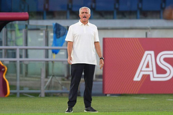 Mourinho Roma Napoli